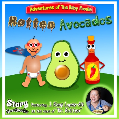 baby foodie avocado podcast art